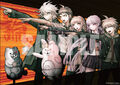 Danganronpa 1.2 Reload Famitsu DX Pack - Poster