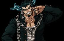 Danganronpa 2 Nekomaru Nidai Halfbody Sprite (PSP) (2)