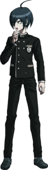 Danganronpa V3 Shuichi Saihara Fullbody Sprite (No Hat) (18)