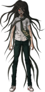 Izuru Kamukura Fullbody Sprite 01