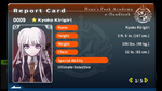 Kyoko Kirigiri Report Card Page 1 (Talent Reveal)