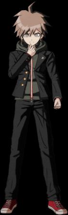 Danganronpa 1 Makoto Naegi Sprite (PSP) 04
