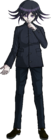 Danganronpa V3 Kokichi Oma Fullbody Sprite (High School Uniform) (3)