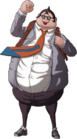 Danganronpa Hifumi Yamada Fullbody Sprite (PSP) (21)