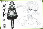 Art Book Scan Danganronpa V3 Character Designs Betas Kirumi Tojo (2)