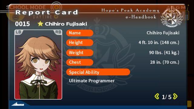 File:Chihiro Fujisaki Report Card Page 1.jpg