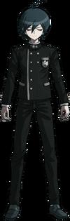 Danganronpa V3 Shuichi Saihara Fullbody Sprite (No Hat) (39)