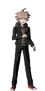 Makoto Naegi Fullbody Sprite 20