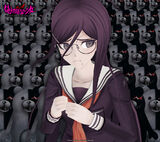 Monokuma Factory Wallpapers Set 2C Toko Fukawa 960 x 854