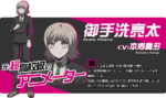 Promo Profiles - Danganronpa 3 Future Arc (Japanese) - Ryota Mitarai