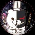 Danganronpa 1.2 Reload x Sweets Paradise Can Badge Monokuma