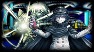 Danganronpa V3 Steam Card - K1-B0 and Kokichi Oma