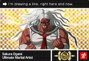Danganronpa V3 Bonus Mode Card Sakura Ogami S ENG