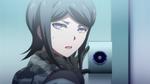 Despair Arc Episode 6 - Mukuro recognizing the retina scanner