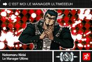 Danganronpa V3 Bonus Mode Card Nekomaru Nidai N FR