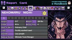 Nekomaru Nidai's Report Card Page 1