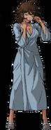 Akane Owari Fullbody Sprite (Hospital Gown) (1)