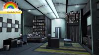 DRv3 Complete Hidden Monokuma Shelf