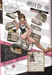 Danganronpa 1 Aoi Asahina Character Design Profile Overview Danganronpa 1.2 Art Book