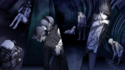 Danganronpa V3 CG - The students despairing at failing the Death Road of Despair (2)