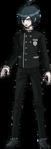 Danganronpa V3 Shuichi Saihara Fullbody Sprite (No Hat) (35)