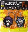 FuRyu Minna no Kuji Dot Rubber Mascots Mikan Tsumiki and Ibuki Mioda