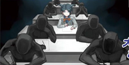 Nagisa taking a test