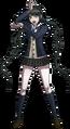 Danganronpa V3 Tenko Chabashira Fullbody Sprite (High School Uniform) (5)