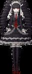 Danganronpa 1 Celestia Ludenberg Fullbody Sprite (PSP) (14)