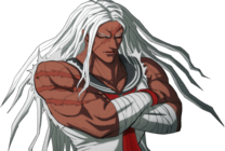 Danganronpa 1 Sakura Ogami Halfbody Sprite (PSP) (4)
