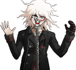Nagito Komaeda The Servant Halfbody Sprite (11)