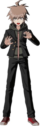 Danganronpa 1 Makoto Naegi Sprite (PSP) 03