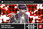 Danganronpa V3 Bonus Mode Card Kaito Momota N ENG