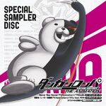 Danganronpa The Animation SPECIAL SAMPLER DISC Cover