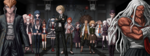 Danganronpa 1 CG - Students at the School Entrance