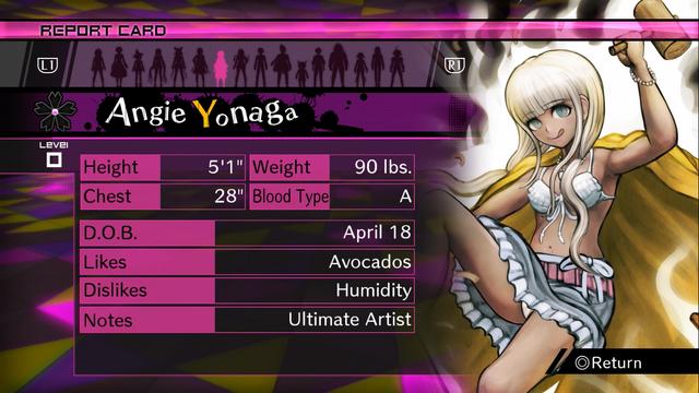 File:Danganronpa V3 Angie Yonaga Report Card (Demo Version).png