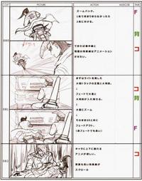 Danganronpa Visual Fanbook Cutscene Storyboards (04)