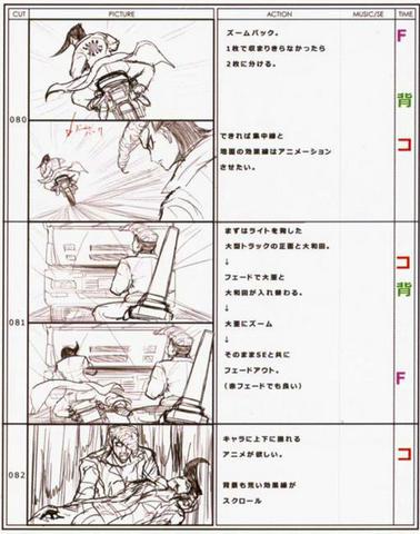 File:Danganronpa Visual Fanbook Cutscene Storyboards (04).png