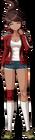 Danganronpa 1 Aoi Asahina Fullbody Sprite (PSP) (5)