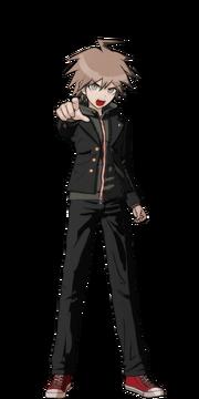 Makoto Naegi Fullbody Sprite 16