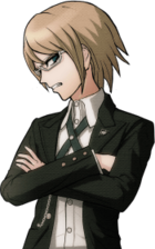Danganronpa 1 Byakuya Togami Halfbody Sprite (PSP) (15)