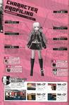 Danganronpa 1 Kyoko Kirigiri Character Design Profile Danganronpa 1.2 Art Book
