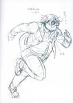 Danganronpa 3 - Character Profiles - Imposter (Despair design sketches)