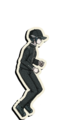 Danganronpa V3 Shuichi Saihara Death Road of Despair Sprite (Hat) 04