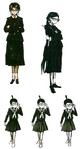 Toko Fukawa Beta Designs Visual Fanbook