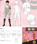 Danganronpa 1 Character Design Profile 1.2 Reload Artbook Kiyotaka Ishimaru