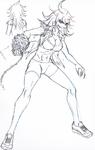 Danganronpa 3 - Character Profiles - Akane Owari (Despair design sketches)