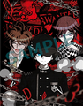 Danganronpa V3 Preorder Bonus Clearfile from Loppi・HMV