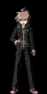 Makoto Naegi Fullbody Sprite 18