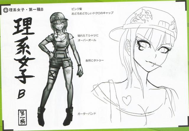 File:Art Book Scan Danganronpa V3 Character Designs Betas Miu Iruma (2).png